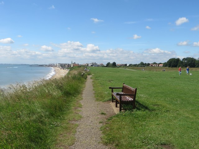 The Headland Way between sewerby and Bridlington