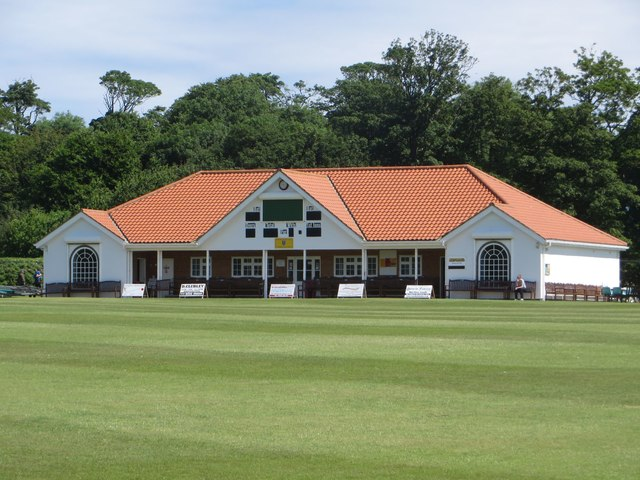 Sewerby cricket pavilion