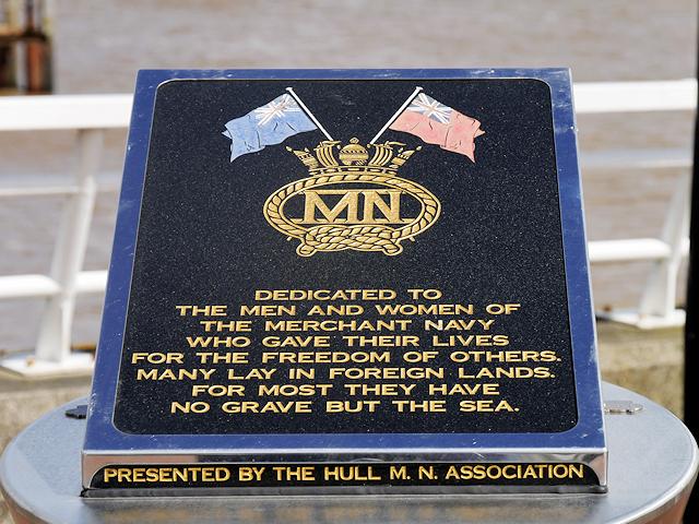 Merchant Navy Memorial on Minerva pier