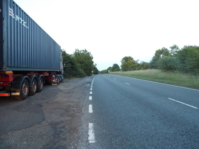 Parking area on A31 east of Winchester