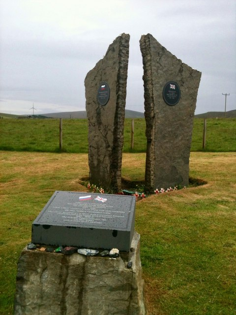 The Arctic Convoy Memorial at Lyness