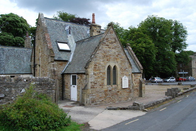 The Monk's Tea rooms in Blanchland