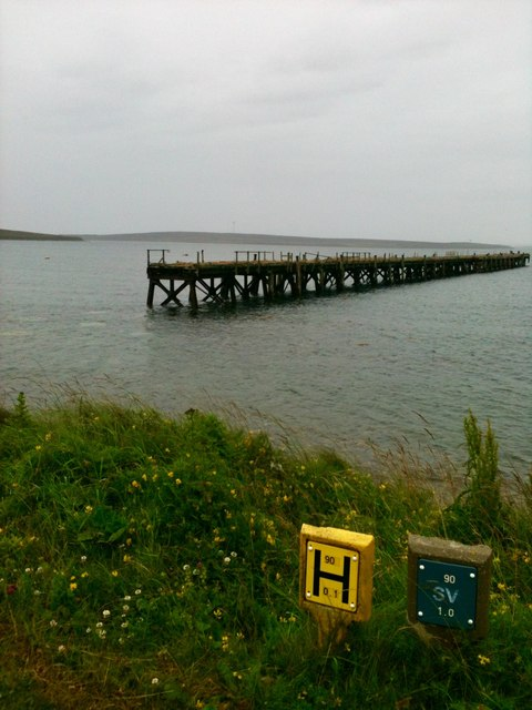 Pier in Lyness