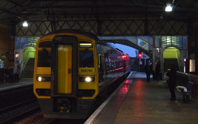 Scarborough bound train