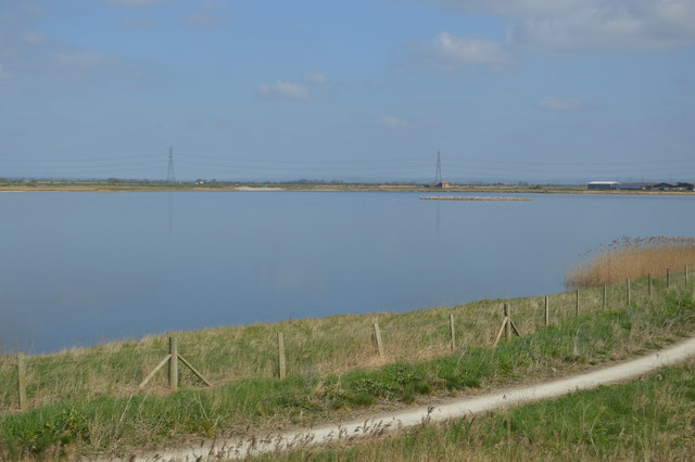 Flooded gravel pit