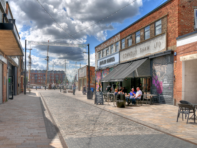 Kingston Upon Hull, Humber Street