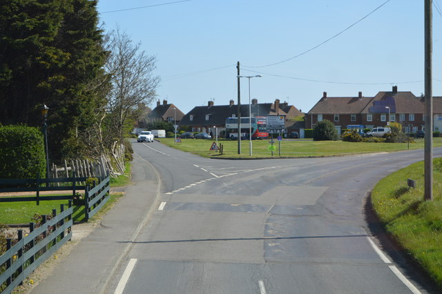 High St, Tourney Rd junction