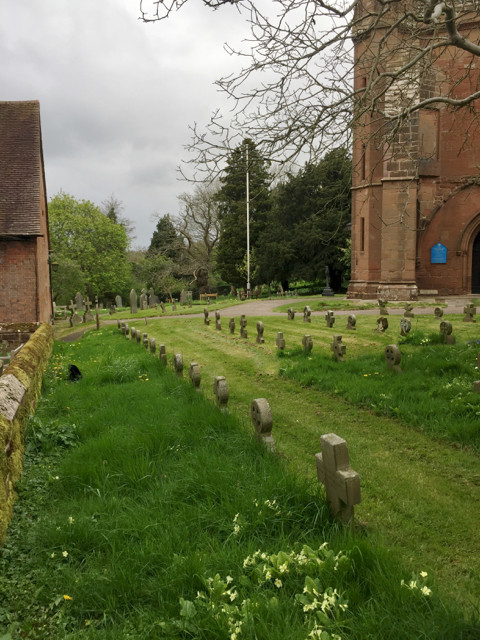 Burial ground at Temple Balsall