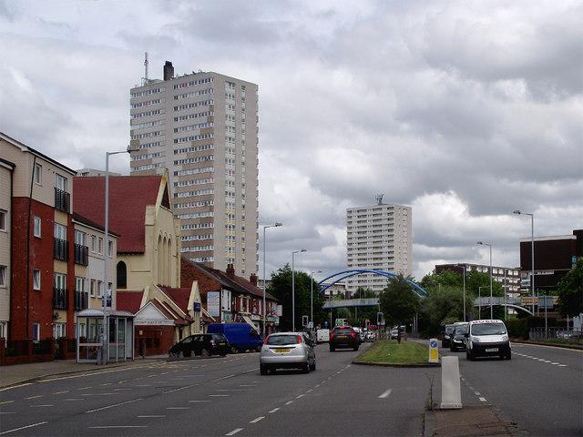 Wolverhampton Road in Springfield, Wolverhampton