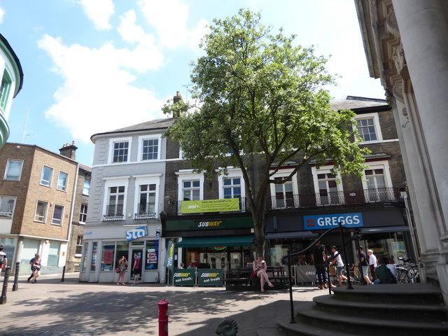 Food shops in London Street