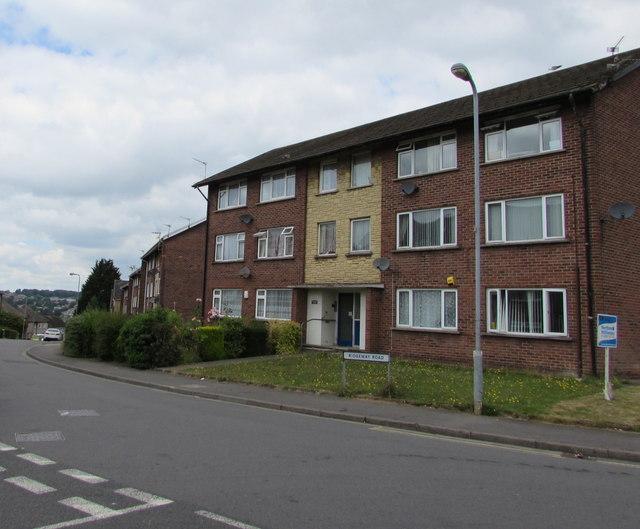 Ridgeway Road flats, Rumney, Cardiff