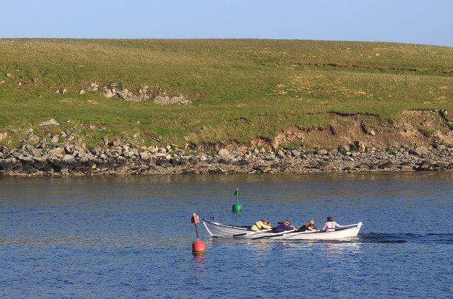 Rowing Practice, Burra Voe