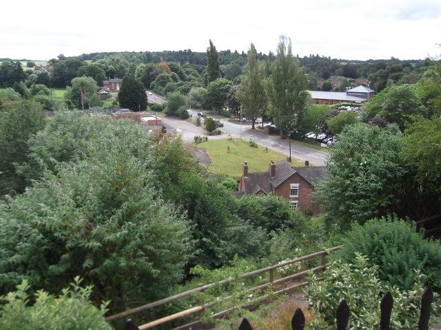 View from St Mary's Churchyard