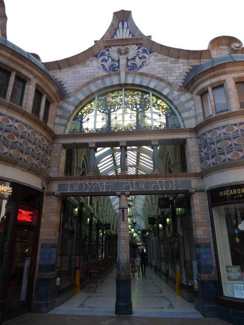 Entrance to the Royal Arcade
