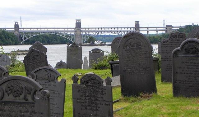 Graves on Church Island