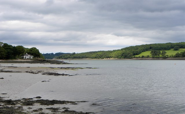 Menai Strait at Moel-y-don
