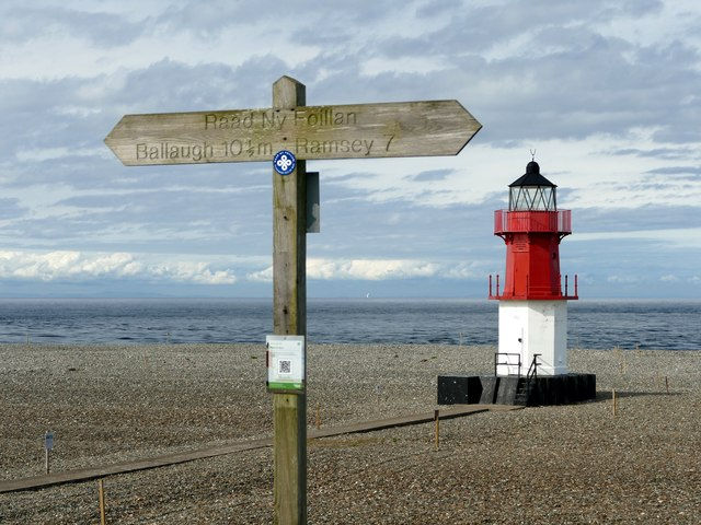 Lighthouse at Point of Ayre