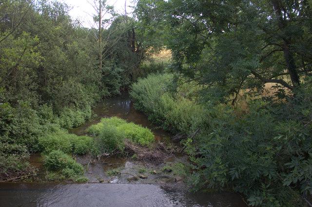 River Alde from Stratford bridge