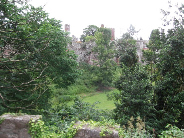 Ruthin Castle Walls