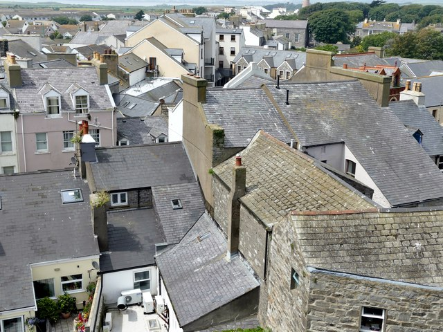 Castletown roofscape