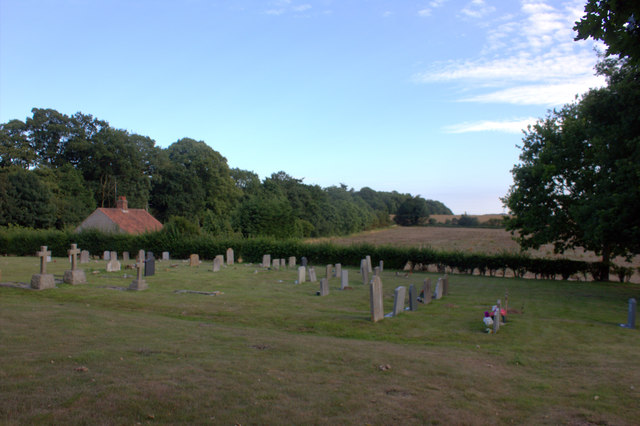 St Mary's churchyard looking south
