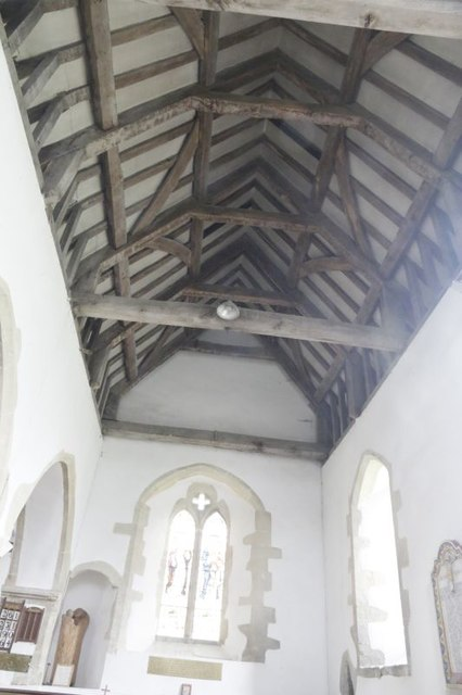 The South Aisle Ceiling
