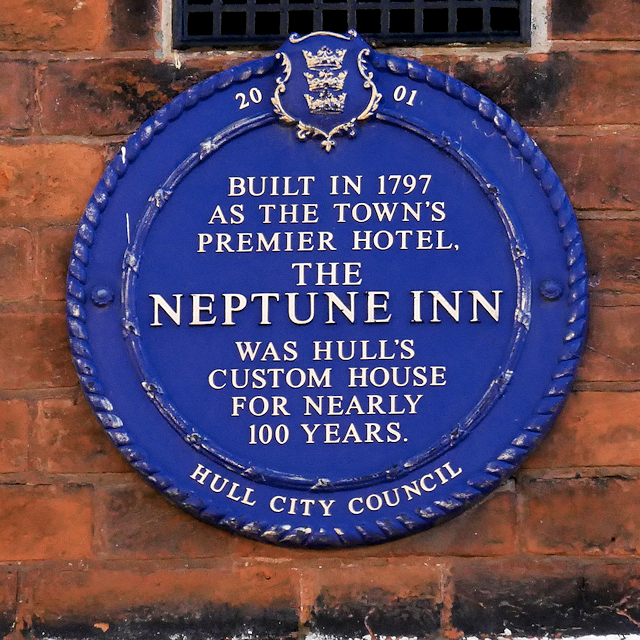 Hull Council Blue Plaque, Neptune Inn