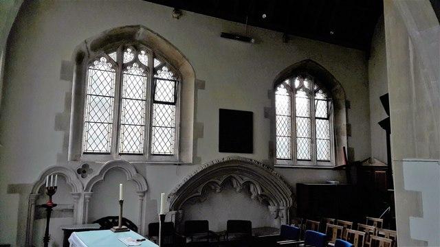 The Ewen chapel in All Saints, Kemble