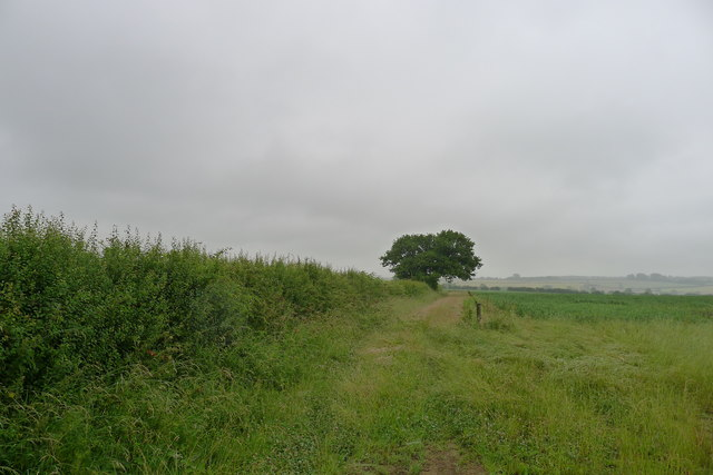 Bridleway leading off Stonesby Road