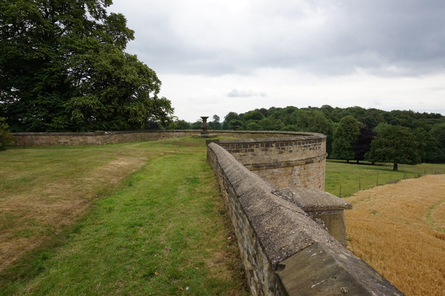 The Terrace at Wentworth Woodhouse