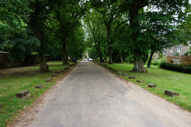 Driveway to Holy Trinity Church, Wentworth