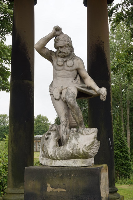 Statue, Wentworth Woodhouse