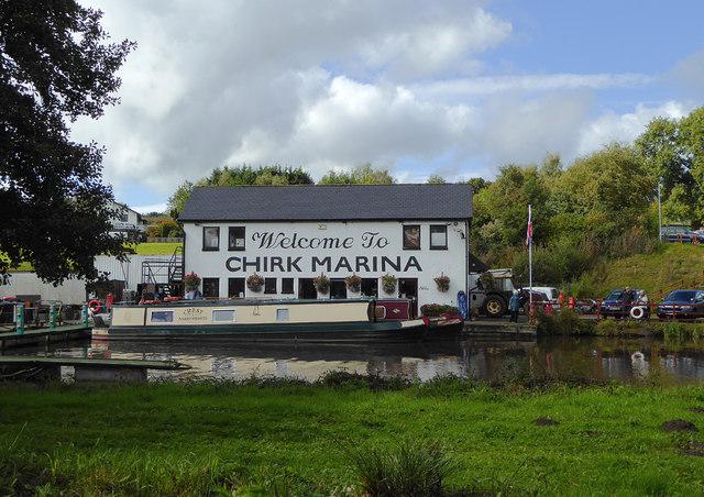 Chirk Marina near Wrexham