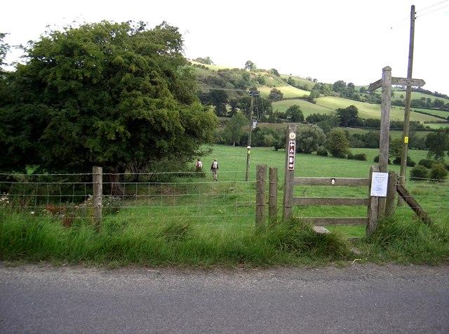 Walking track gate, Lower Spoad