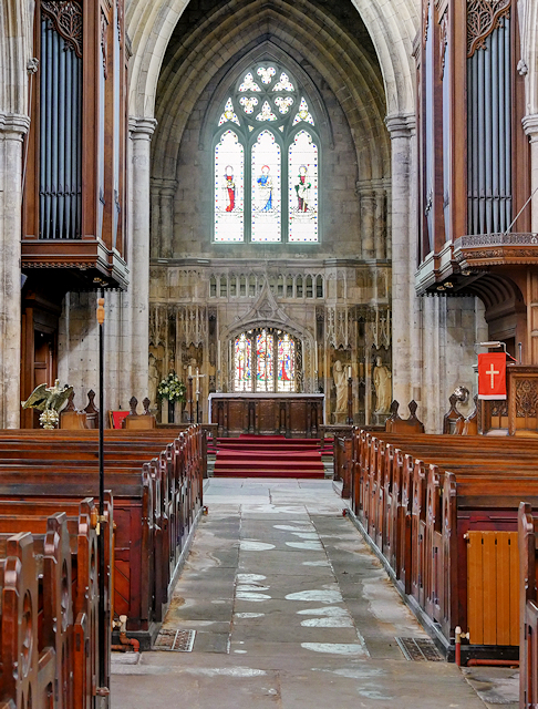 Howden Minster, Nave and Chancel