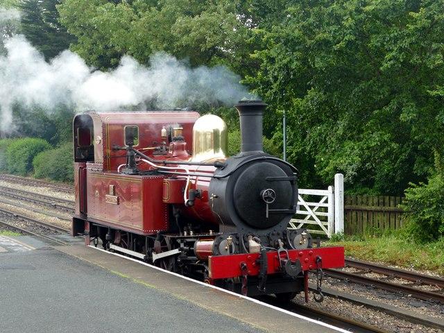 Locomotive no. 12 'Hutchinson'