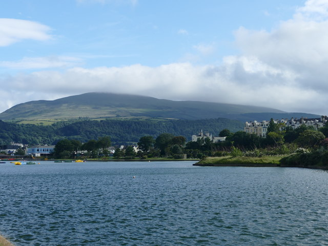 Lake in Mooragh Park