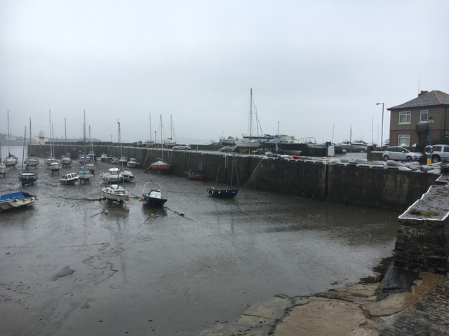 Low tide at Port St Mary