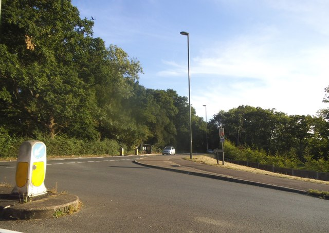 Send Marsh Road at the junction of Portsmouth Road
