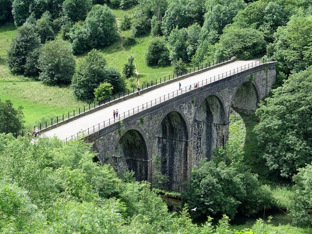 Monsal Head-Monsal Viaduct