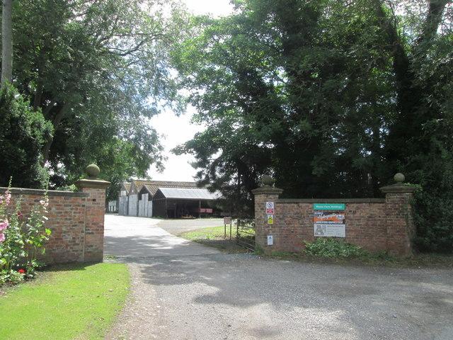 Entrance to Manor Farm Buildings