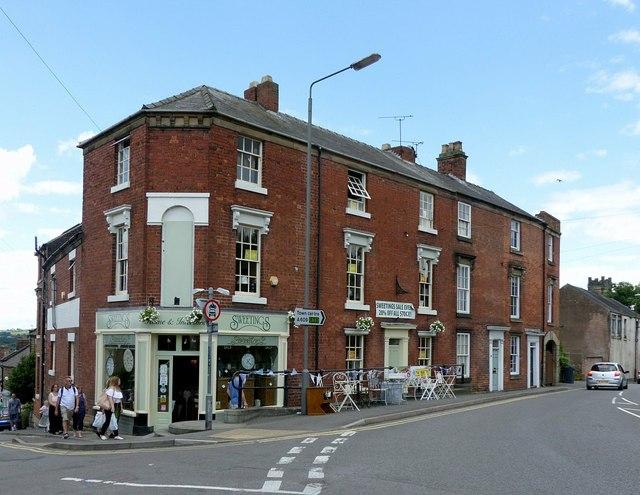 The corner of Lander Lane, Belper