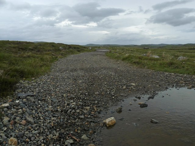 Moorland track above Loch na Craoibhe, Isle of Lewis