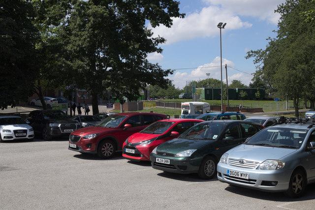 Car Park, Thornes Park Athletic Stadium