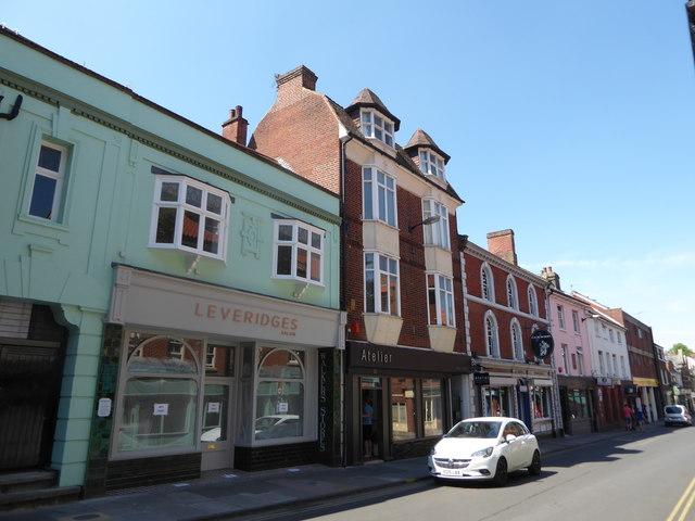 Shops in St Benedict's Street