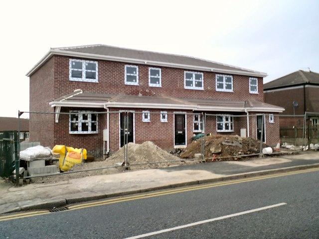 New houses on Victoria Street