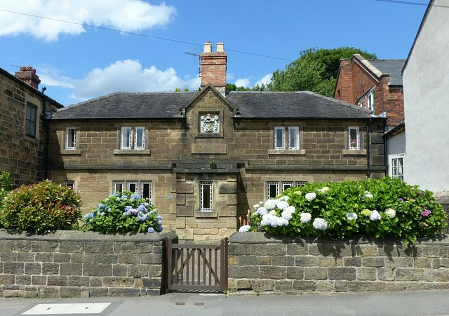 Matthew Smith almshouses, The Butts, Belper