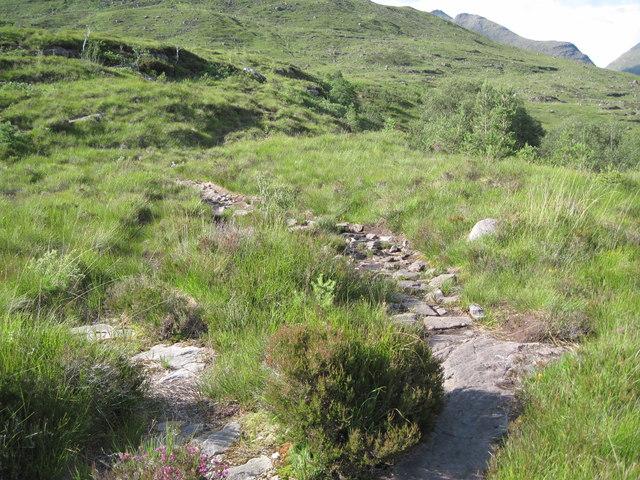 The path to Tom na Gruagaich