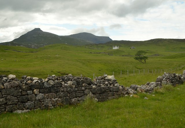 Achmore Farm in the Assynt, Sutherland