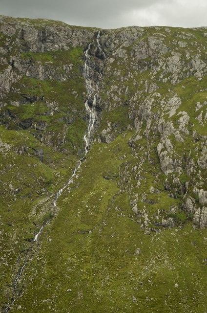 Eas an t-Srutha Ghil Waterfall, Sutherland